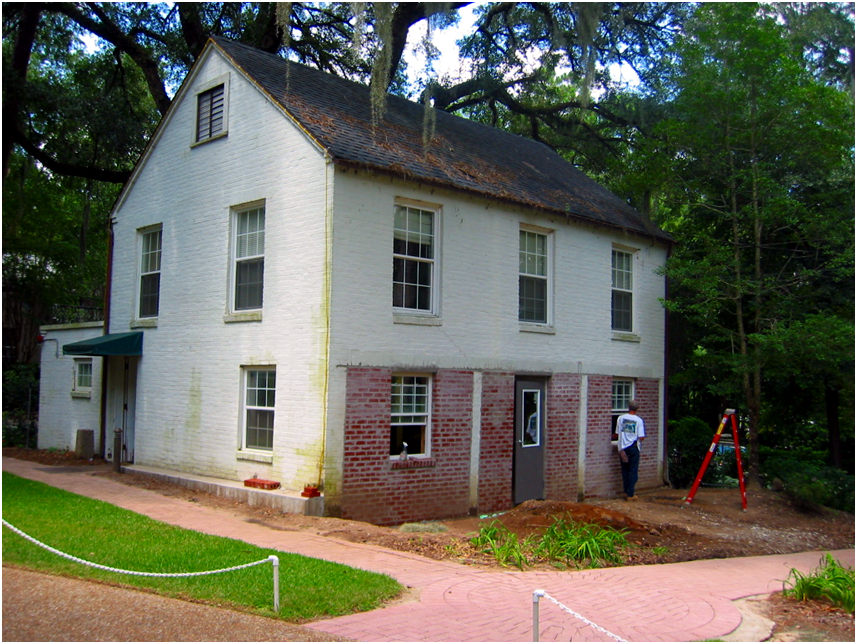 Carriage House Restoration Near Completion