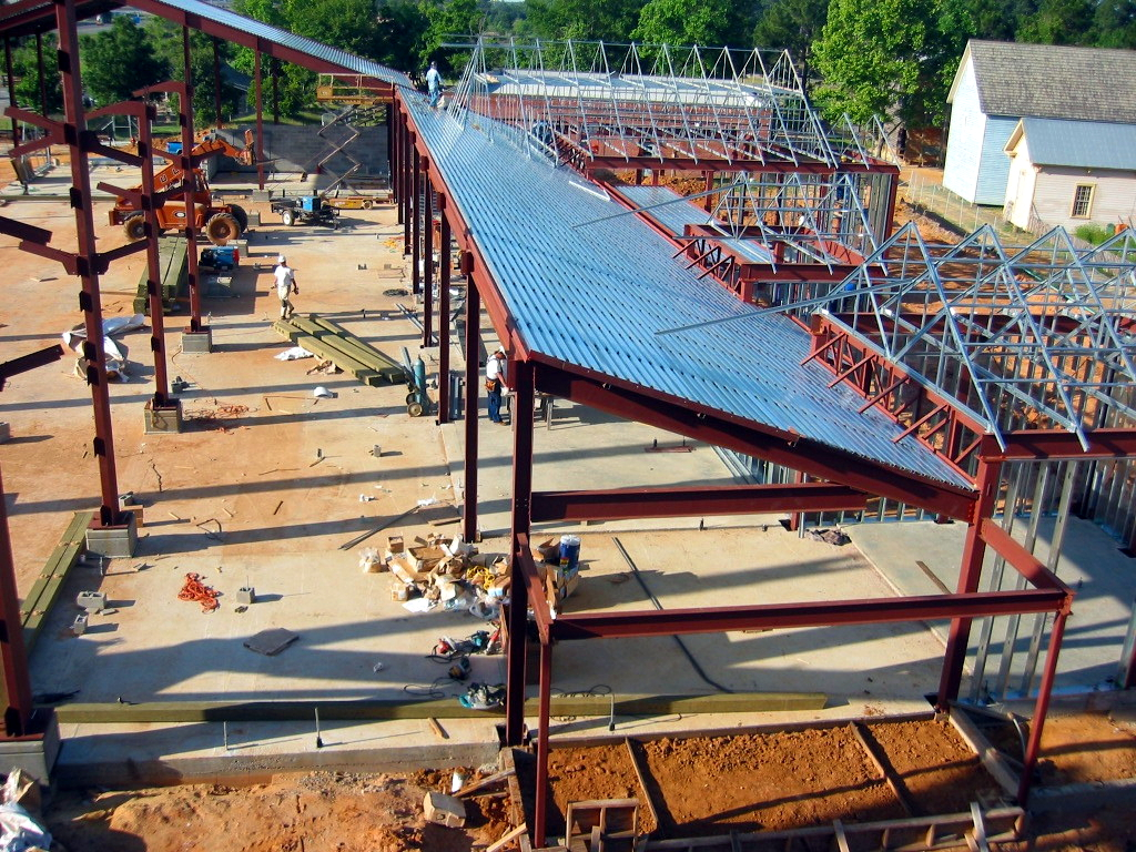 Building Structure During Construction