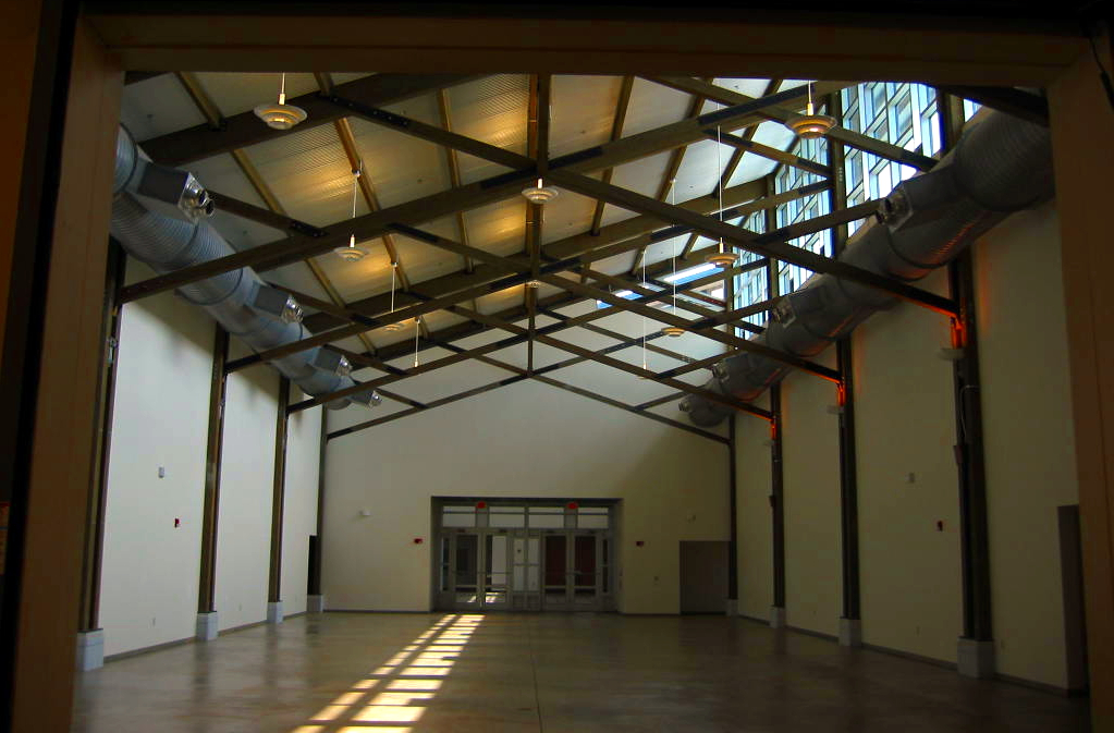 Interior of Main Exhibition Hall