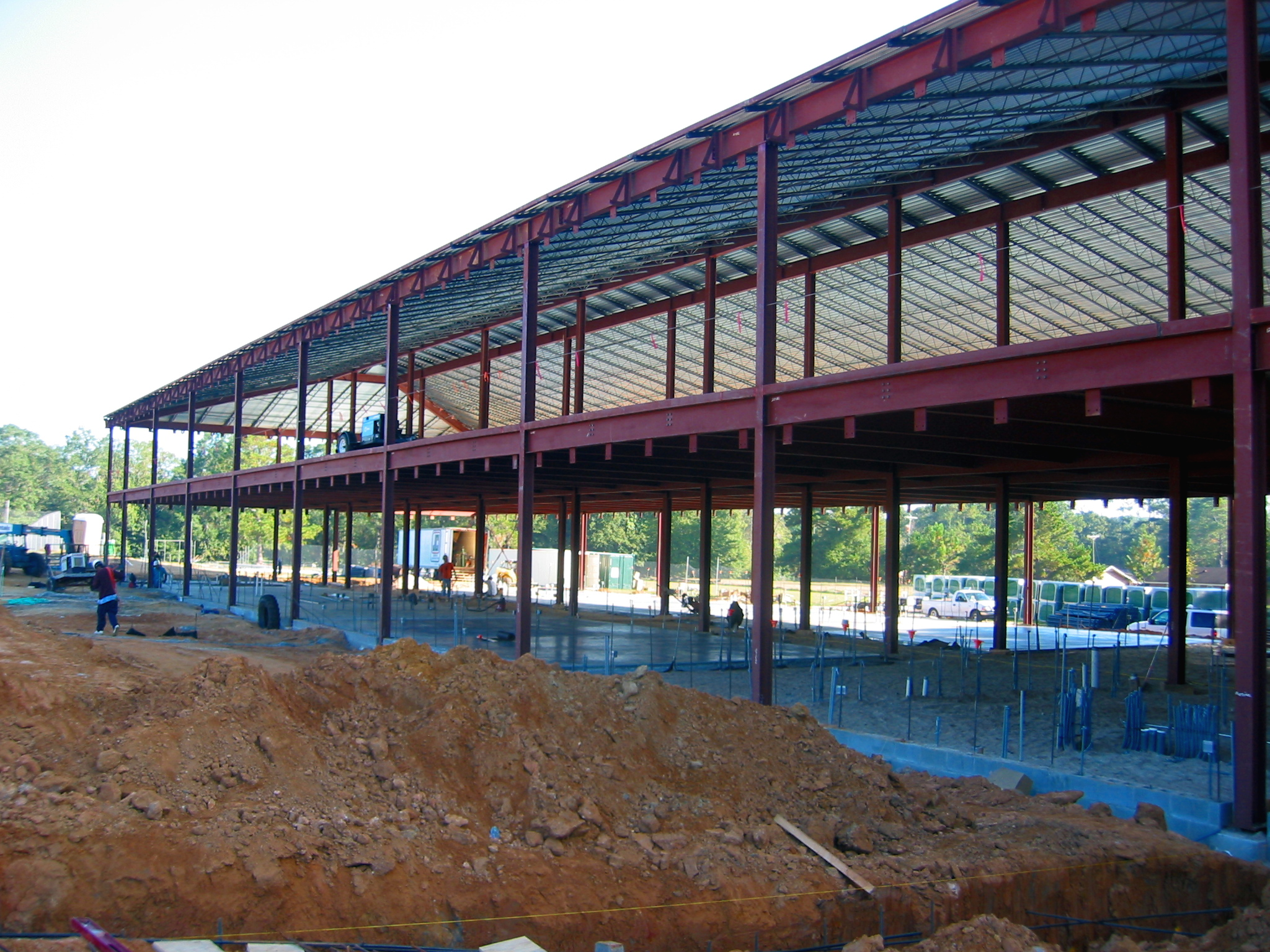 Structural Interior - Cox Elementary School