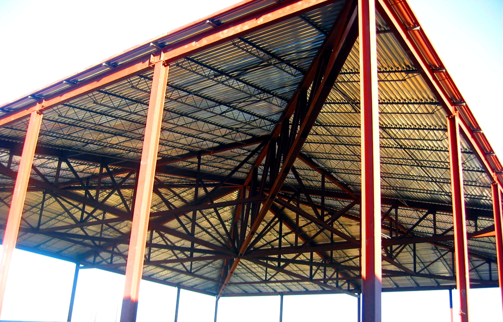 Structure Under Construction - C.A. Gray Elementary School